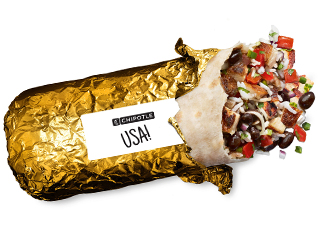 Chipotle Burritos Will Now Be Wrapped in Gold