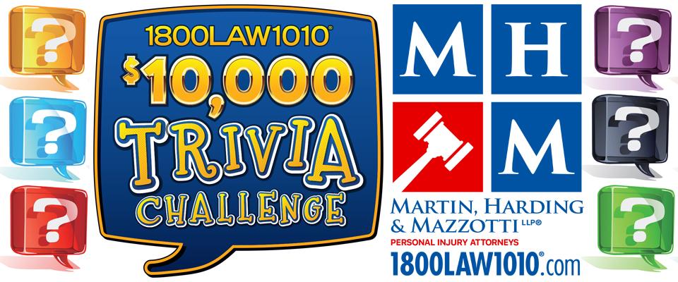 1-800-LAW-10-10 $10,000 Trivia Challenge
