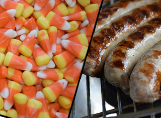 Candy Corn Bratwurst Is Real