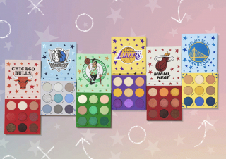 New NBA Makeup Palettes Feature Colors From 6 Teams