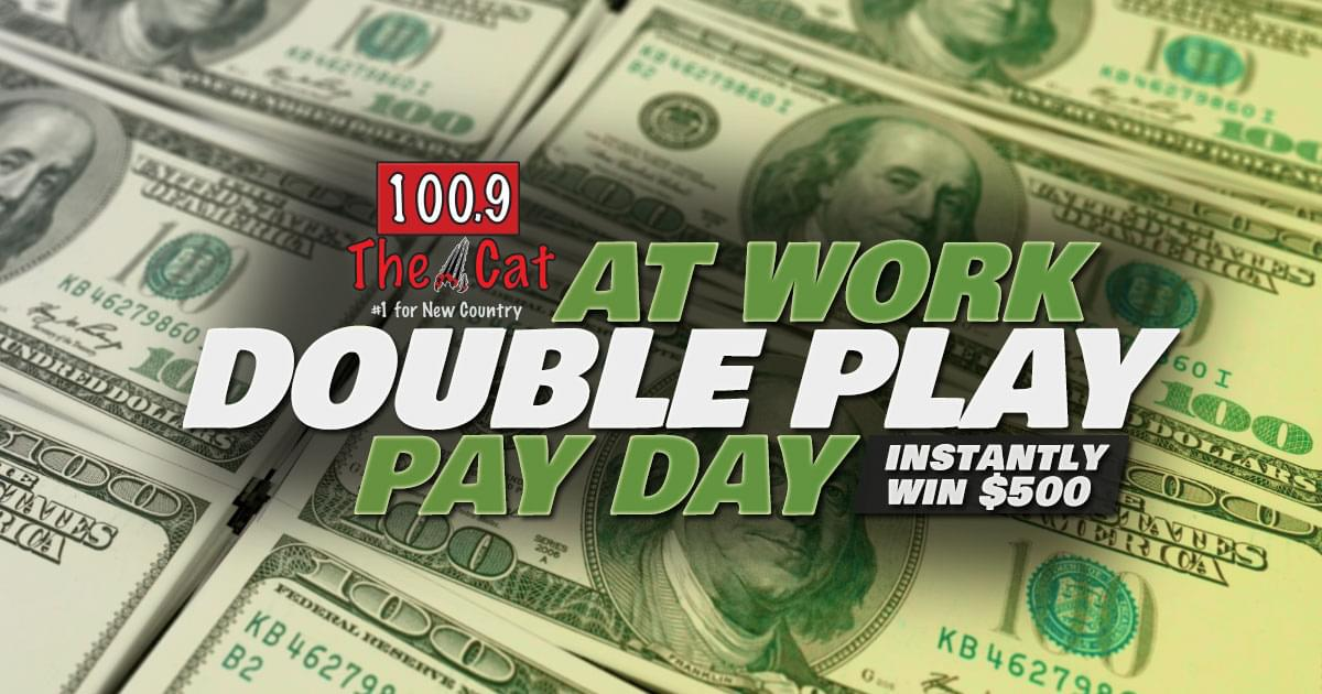 The Cat's At Work Double Play Pay Day!