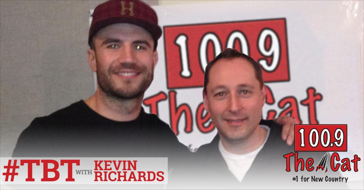 Sam Hunt in 2013 with Kevin Richards