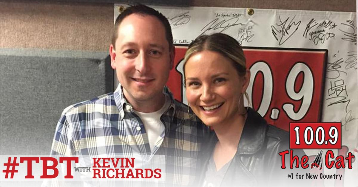 Jennifer Nettles of Sugarland with Kevin Richards in 2016