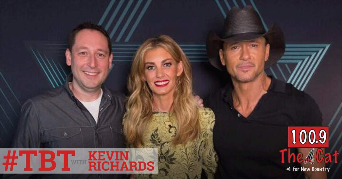 Tim McGraw and Faith Hill in 2007 with Kevin Richards