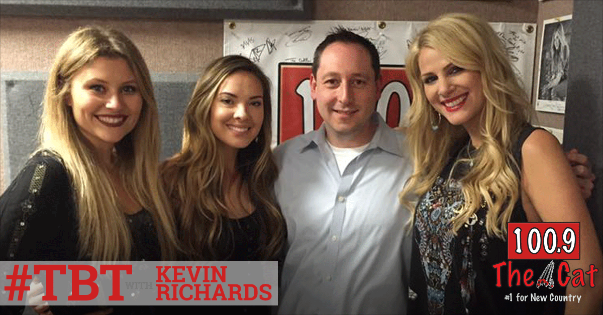 Runaway June in 2017 with Kevin Richards
