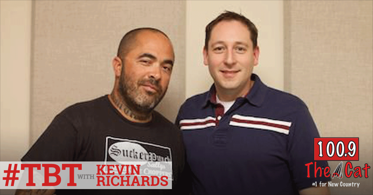 Aaron Lewis in 2009 with Kevin Richards