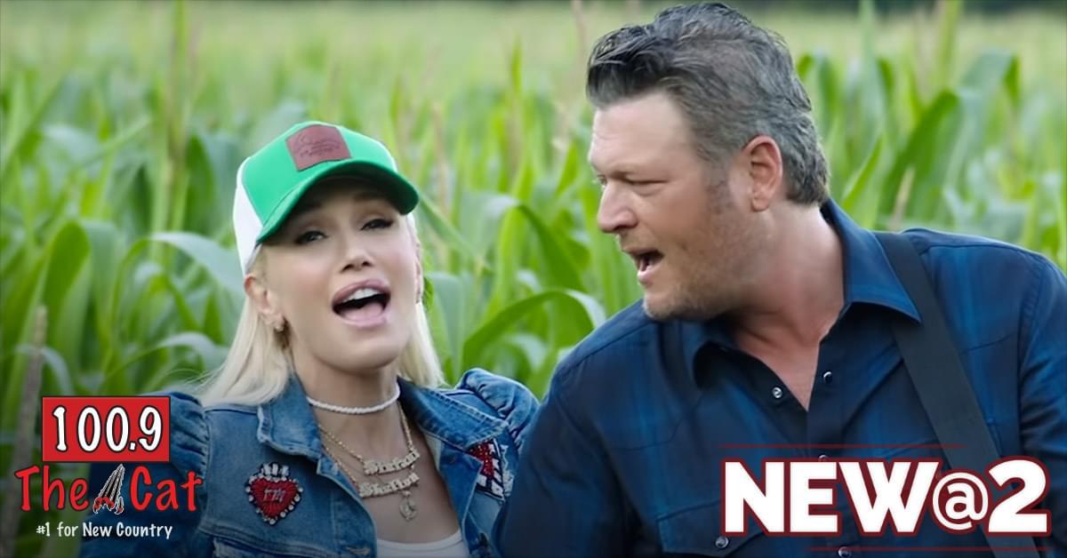 Blake Shelton and Gwen Stefani – Happy Anywhere