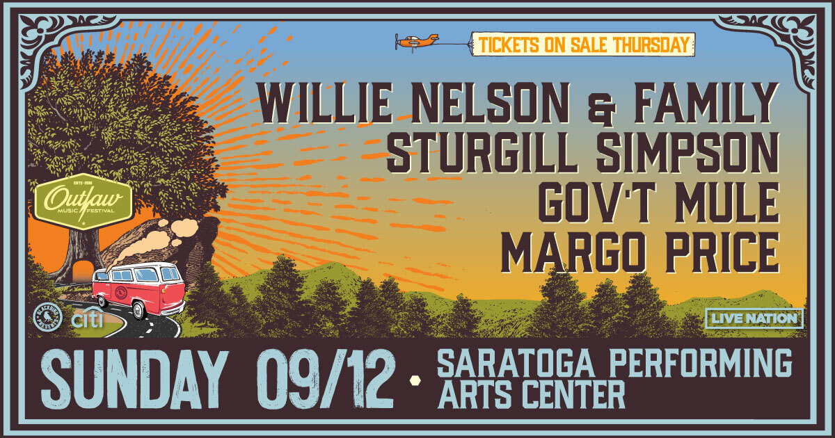 September 12th Saratoga Performing Arts Center