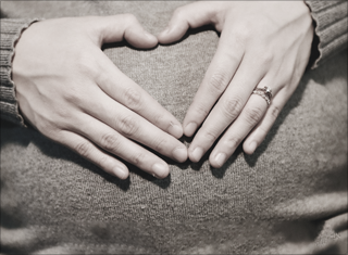 Her friend has struggled with infertility. How do they announce their pregnancy?