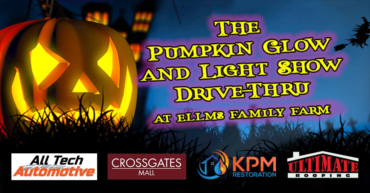 The Pumpkin Glow and Light Show Drive-Thru!