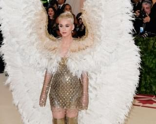 Katy Perry Shows Off What Would Have Been Her Met Gala Look
