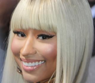 Nicki Minaj's Pregnancy Photoshoots Included A Custom Couture Crystal Veil