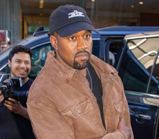 Kanye West Spotted In Antwerp