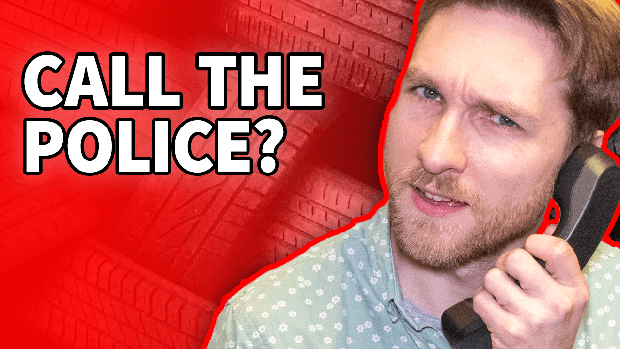 Would you call the police to get your car back?