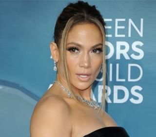 Jennifer Lopez Drapes Herself Across Fiancé Alex Rodriguez