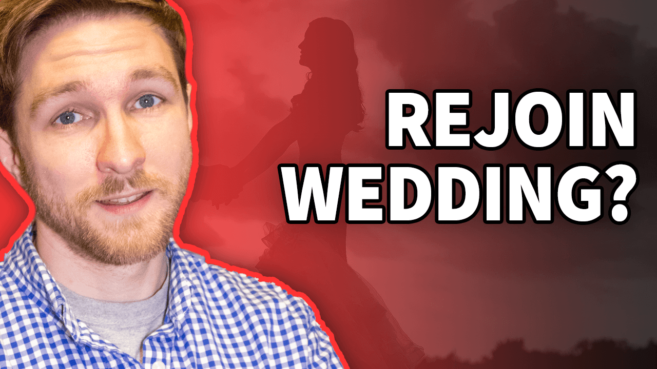 Get your groomsman back in your wedding?