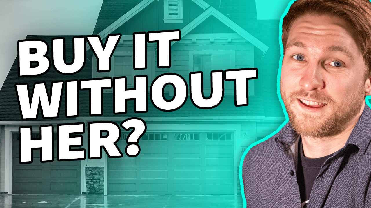 Buying a home without your significant other?