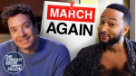 Jimmy Fallon, John Legend Can't Believe It's 'March Again' In Hilarious Parody Song