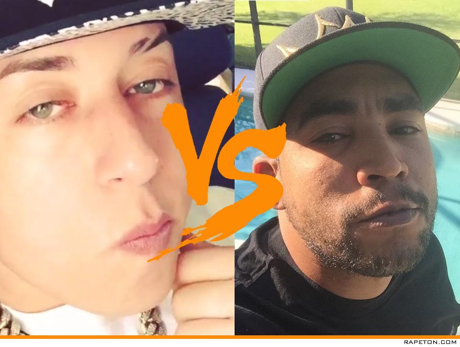 ¡Se armó la grande!: Don Omar y Cosculluela en tiraera!