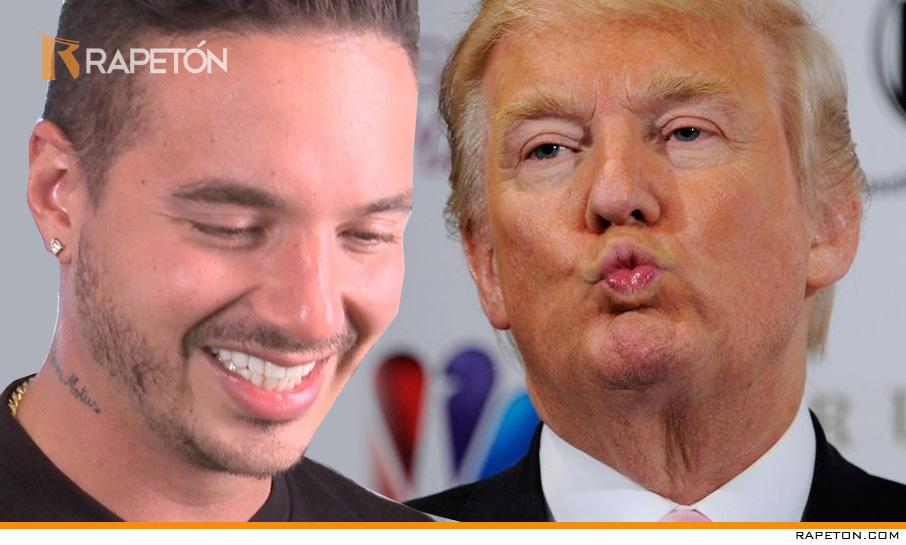 Donald Trump le responde a J Balvin