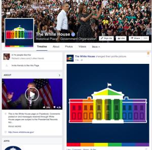 Mira como la Casa Blanca celebra en Facebook la decisión sobre el matrimonio igualitario