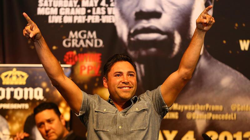 Oscar De La Hoya quiere volver a pelear