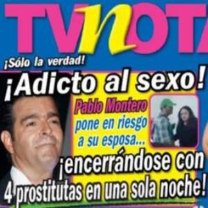 Revista asegura que Pablo Montero se encerró con 4 prostitutas