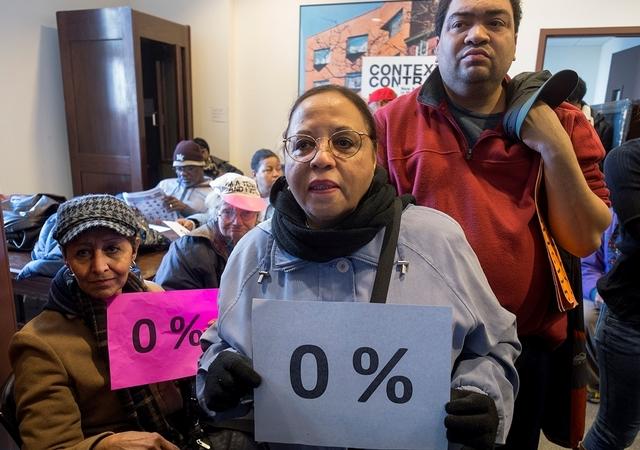 En Nyc !!! La Renta subira 3.5%!! Comunidad toma la palabra en debate de alquileres!