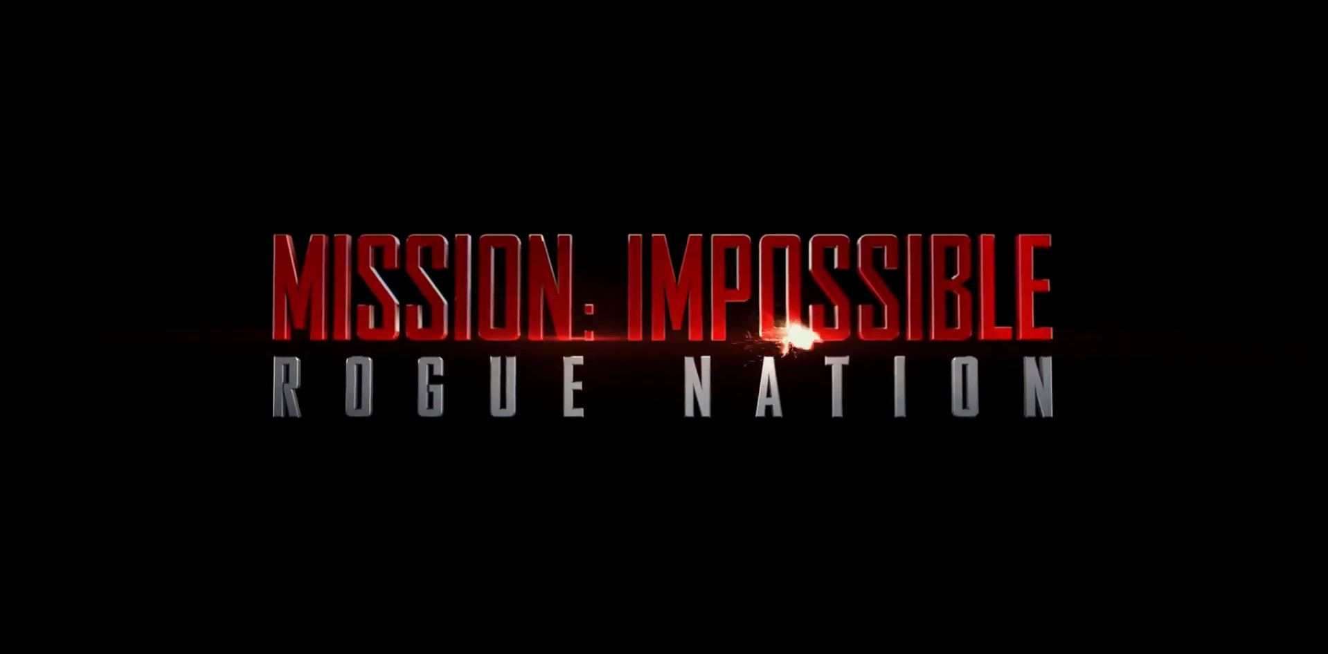 """Trailer Mission Impossible """"Rogue Nation"""""""