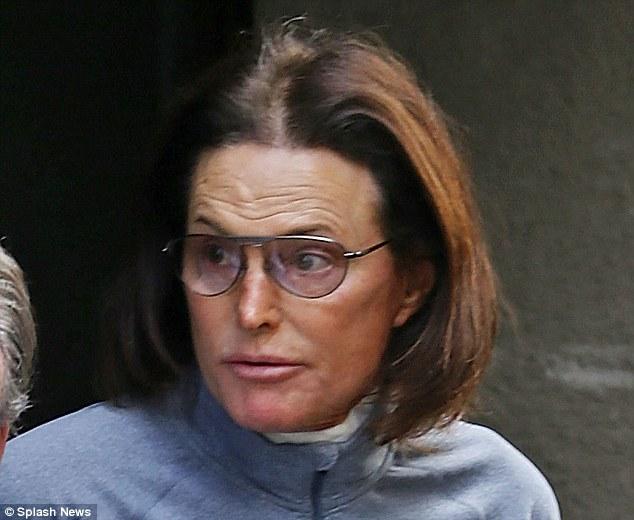 Primera foto de Bruce Jenner como mujer!