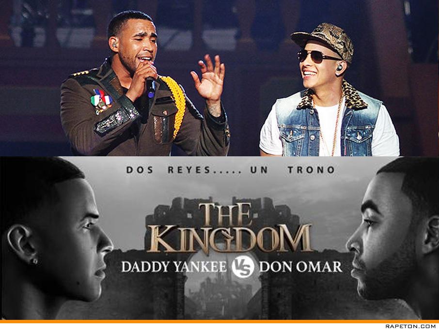 """Don Omar y Daddy Yankee anuncian la gira mundial """"The Kingdom"""""""