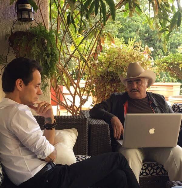 ¿Preparan dueto Vicente Fernández y Marc Anthony?