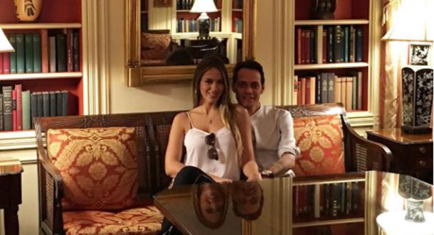 ¡Marc Anthony y Shannon visitaron la Casa Blanca!