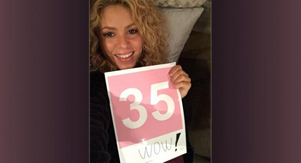 Shakira es la latina más popular en Twitter