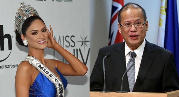 ¡Que Miss Universo sale con el presidente de Filipinas!