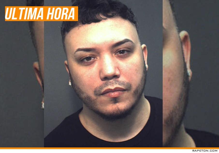 Arrestan al reggaetonero Jory en Orlando, Florida