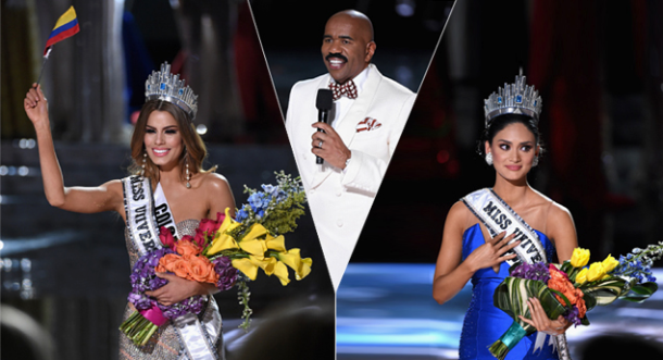 Colombia es Miss Universo por 2 minutos y 10 segundos