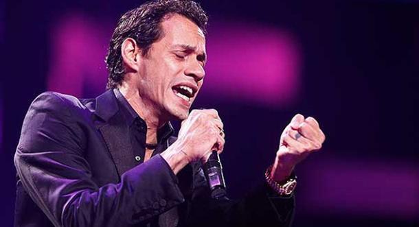 Marc Anthony, la estrella más exitosa en sus giras. Le ganó a Carrie Underwood y Ricky Martin