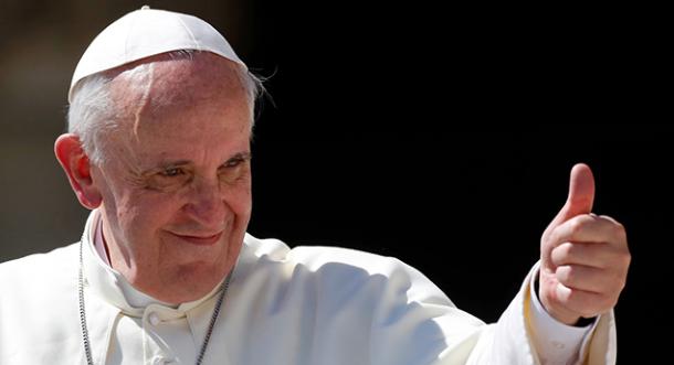 Nominan al Papa Francisco para el premio Nobel de la Paz