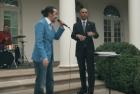 Video – Obama colaborando en 'freestyle'