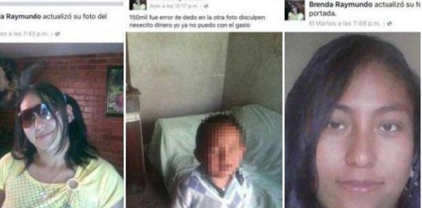 Detienen mujer que puso a la venta a su hijo en Facebook