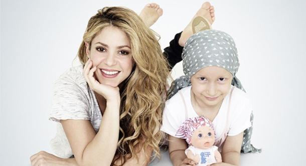 Shakira, de cantante a diseñadora por una buena causa