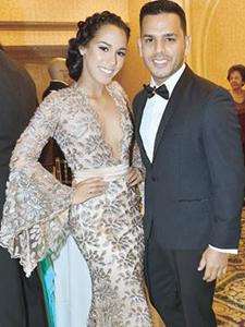 Tito El Bambino y su hija Jenaliz celebrando el Prom!!!!
