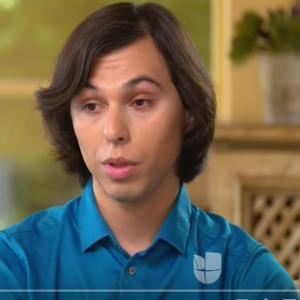 Presentan a nuevo hijo de Juan Gabriel, Joao Gabriel, de 23 años