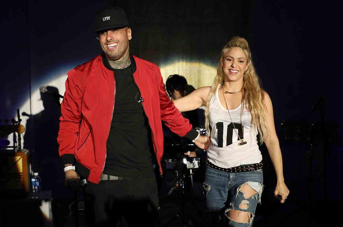 Shakira Celebrates El Dorado's Release With a Big Fiesta in Miami