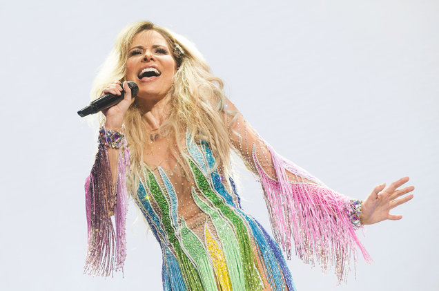Gloria Trevi Says Her VERSUS World Tour Costumes Bring Out Her 'Inner-Feline': Exclusive Sketches