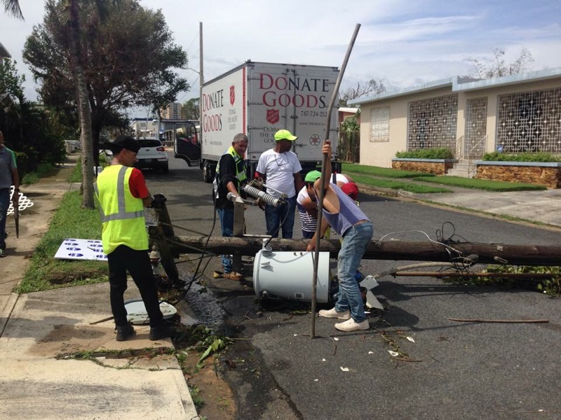 PHOTOS of Disaster Relief by The Salvation Army