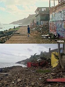 Luis Fonsi muestra antes y después de la ubicación de Despacito en Puerto Rico!!!