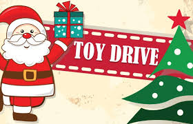 """""""The Community Elves with their Toy Drive"""" PLEASE DONATE NEW OR USED TOYS"""