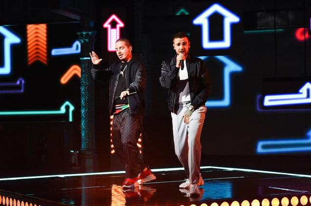 Liam Payne and J Balvin Light It Up For 'Familiar' Performance on 'Colbert': Watch